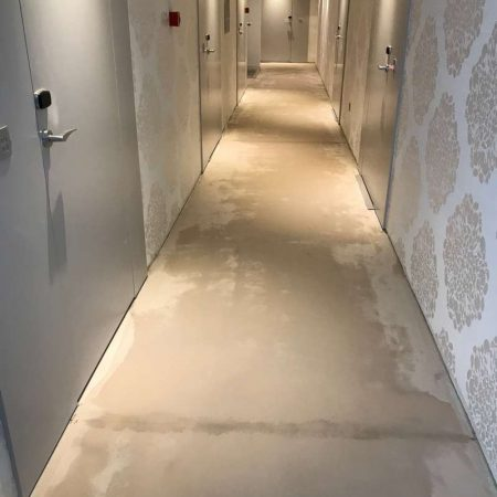 Hotel Mirjam Makarska Ercom postavljanje tapisona