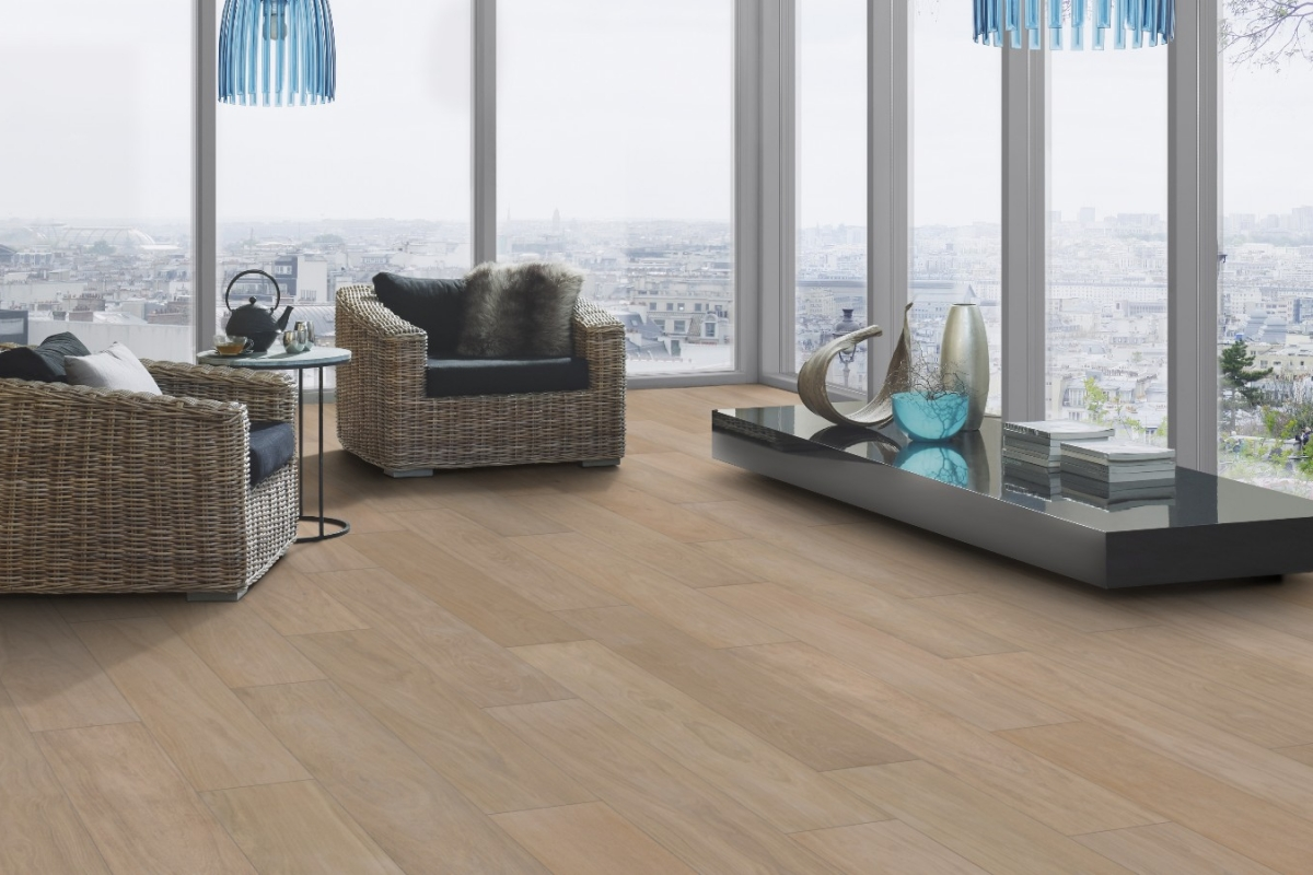 Luxury vinyl tiles LVT - purchase and setting up Ercom