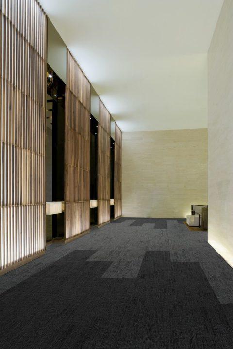 Ercom Burmatex podne obloge Modern Elevator Lobby
